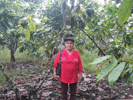 Supporting a smallholder farmer in Ecuador