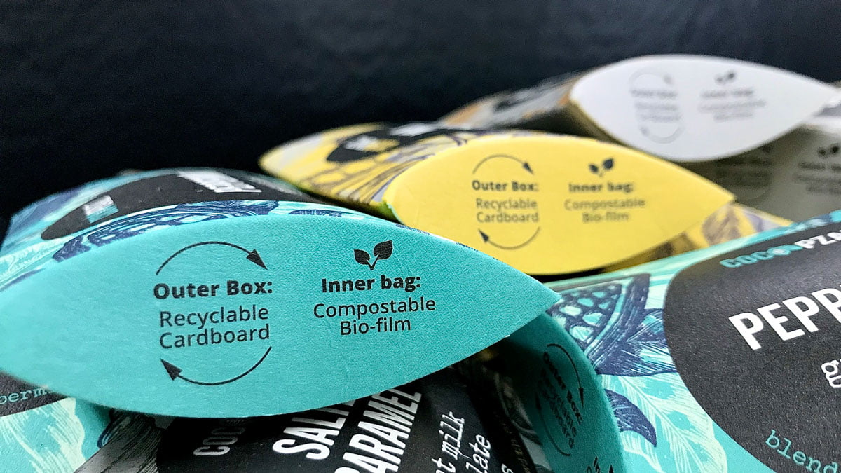 Small Changes Big Impact Environmentally friendly packaging