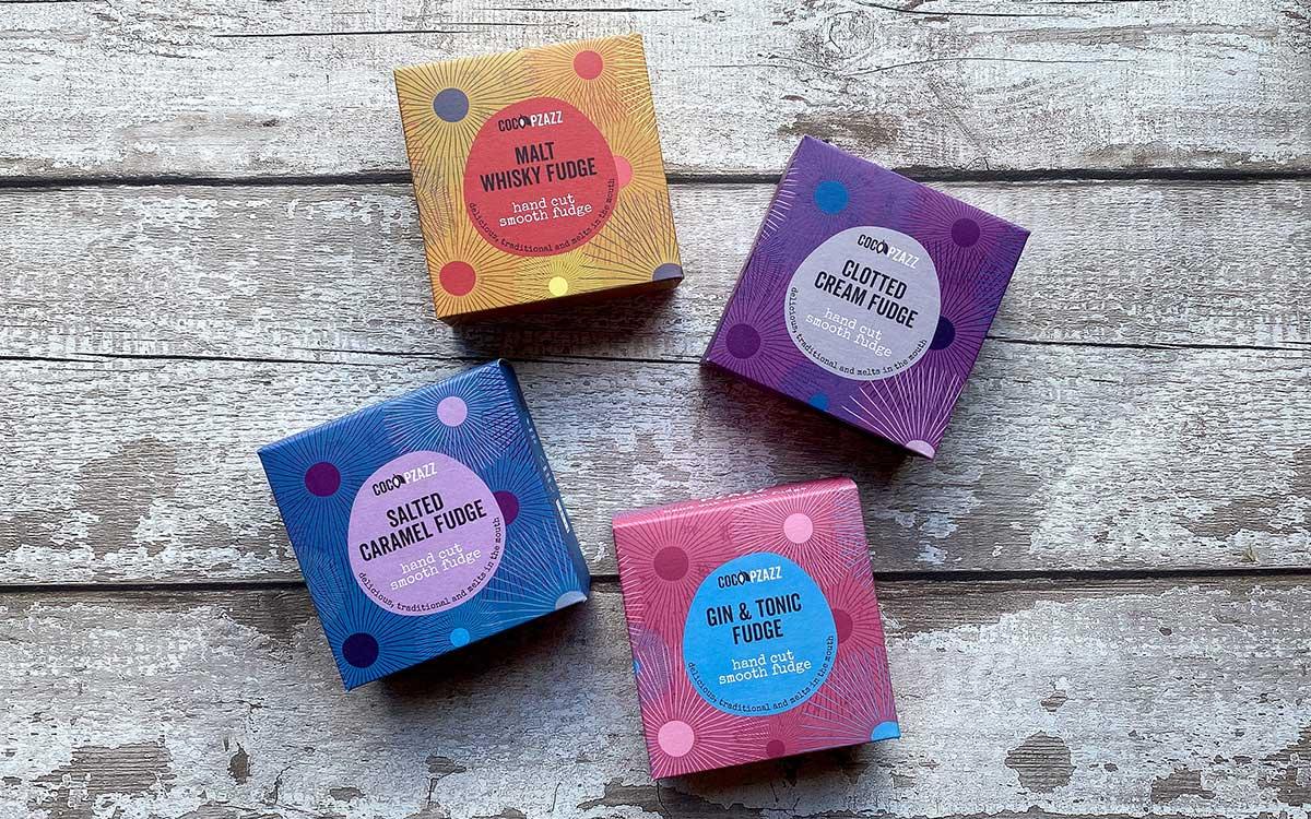 Coco Pzazz new fudge boxes